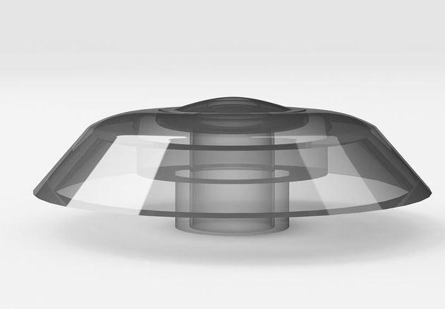 Термошайба тш-4 бесцветная прозрачная, поликарбонат